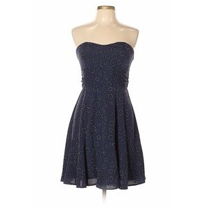 American Eagle Strapless Patterned Dress